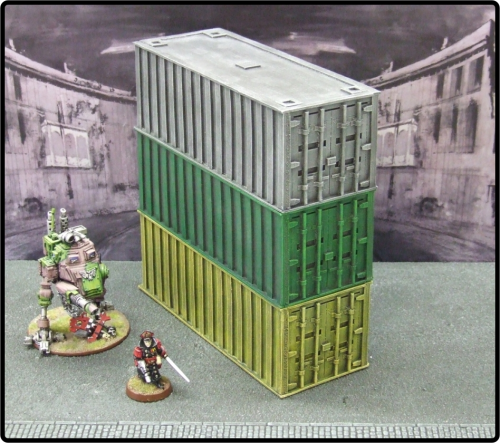 Large Cargo Container Pack