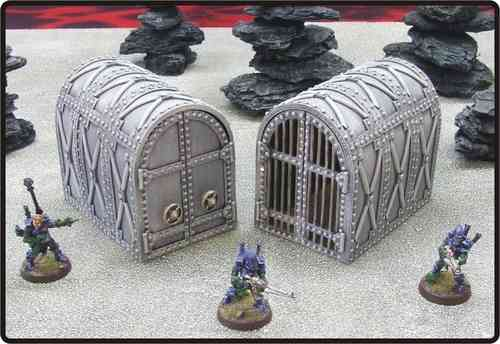 Prisoner Vault and Cage Pack