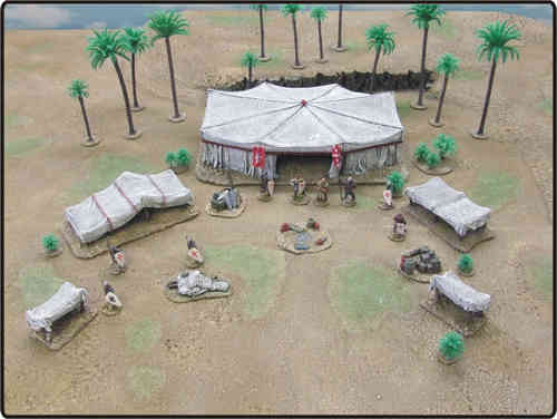 Tent - Crusader Army Camp