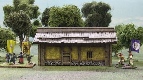 Peasants Hut (Yellow)