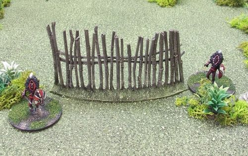 Boma Fence - Curved Section