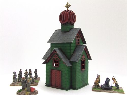 Russian Church (Green)