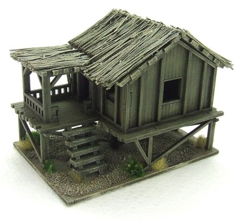 Planked Style Village House