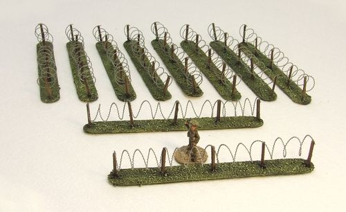Barbed Wire Fencing Pack (Grass)